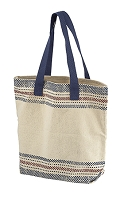 Graphic Canvas Tote on Sale