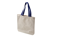 Canvas Accent Handle Tote