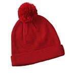 POM KNIT BEANIE - Select Colors on Sale